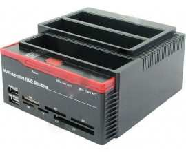 Cititor/inscriptor de carduri 3xHDD SATA2x HUB interfata USB 2.0
