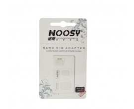 Set adaptor Nano SIM 3 in 1 Noosy Blister