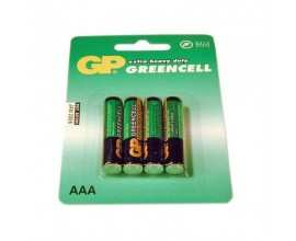 Baterie 4x AAA Zinc-Carbon Blister GP BATTERIES (GP24G-BL4)