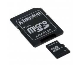 KINGSTON Memory ( flash cards ) 32GB MicroSDHC Micro SDHC Class 4, Plastic with SDHC adapter