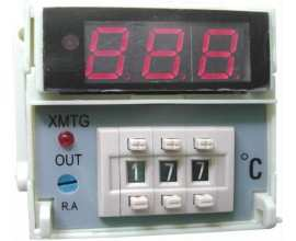 Controler de temperatura industrial