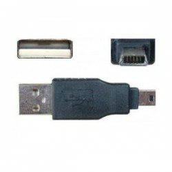 Adaptor USB A tata - mini USB