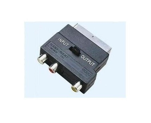Adaptor euroscart - 3xRCA audio/video