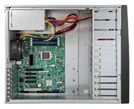 Server INTEL P4304BTLSHCNR (Tower 4U, 1xE3-1200, 4xDDR3 UDIMM 1600MHz, 4x3.5'' HDD HotSwap