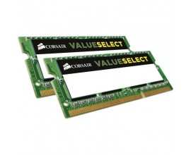 Memorie notebook Corsair ValueSelect 8GB DDR3 1333MHz CL9 Dual Channel Kit