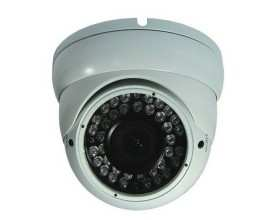 Camera color de exterior 1/3 Sony EXview HAD CCD II High-Sensitivity Sony Enhanced Effio-E (673BK) 700TVL, KM-150HF